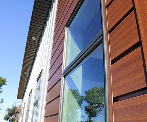 Espresso Woodgrain Series Forma Plank and Regent Grey Forma Loc - Forma Steel