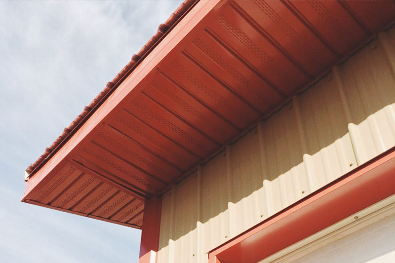 Products from Forma Steel: Soffit