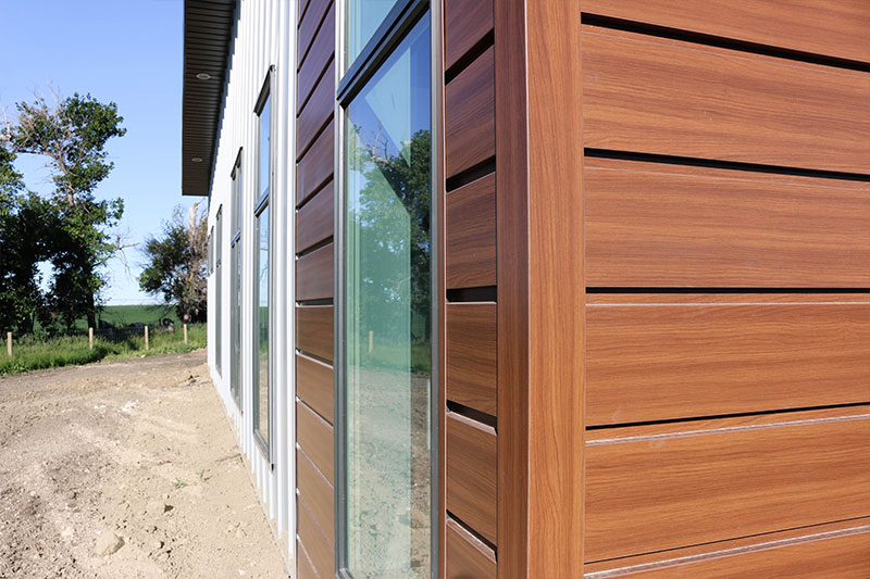 Products from Forma Steel: Woodgrain Series Steel