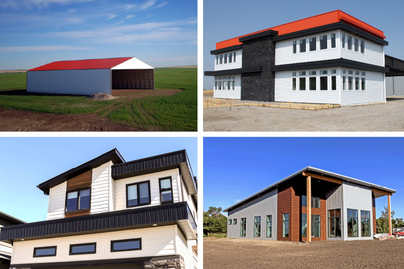 Steel Roofing and Siding Applications