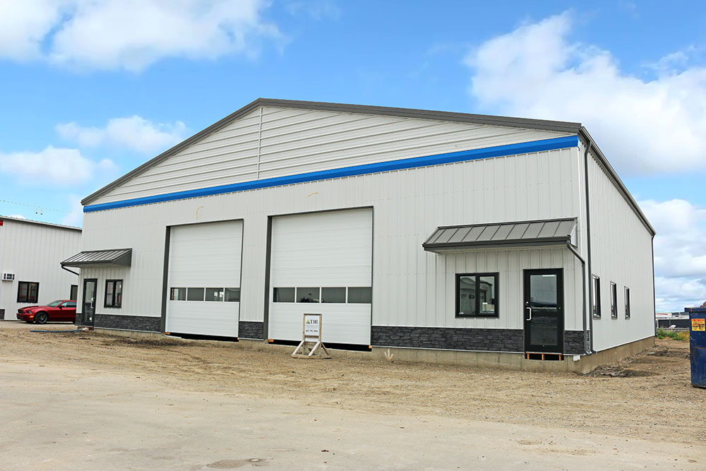 Commercial Shop with FR Panel Siding
