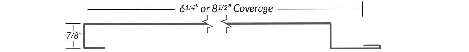 Metal Panel - I/9 Line Drawing