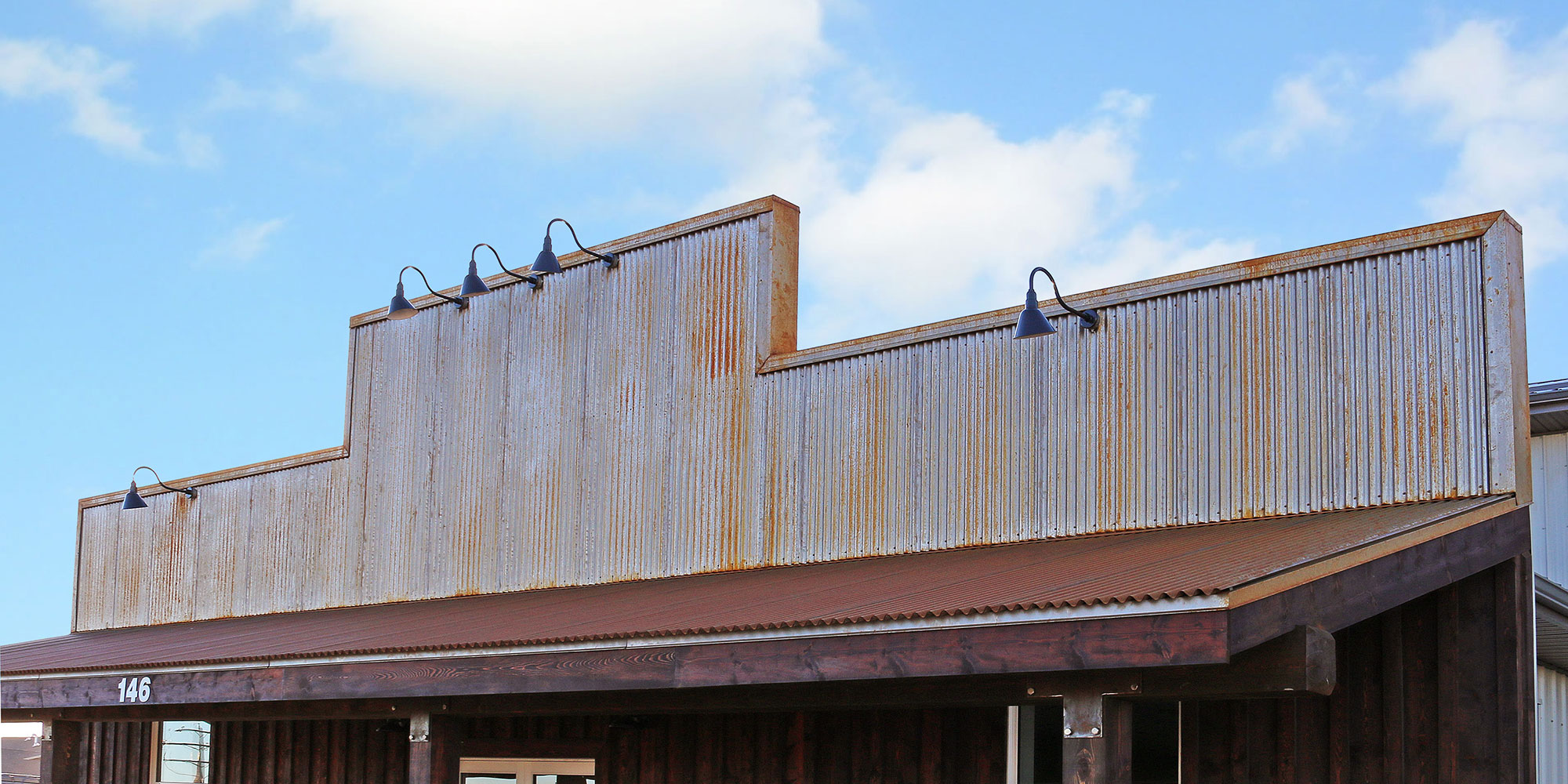 """7/8"""" Corrugated in Weathering Steel"""