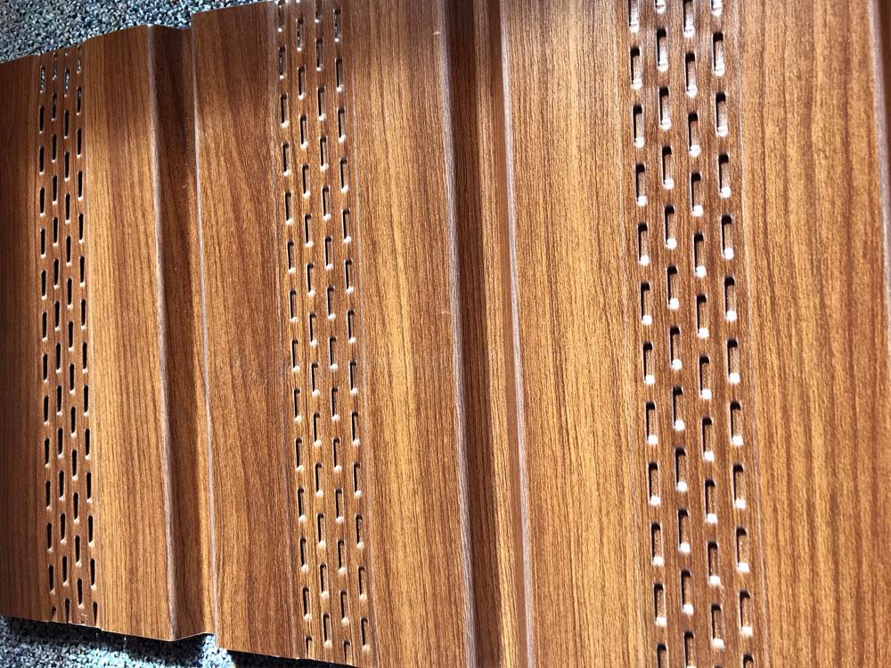 Soffit in Espresso Woodgrain - II/6 Reverse Panel