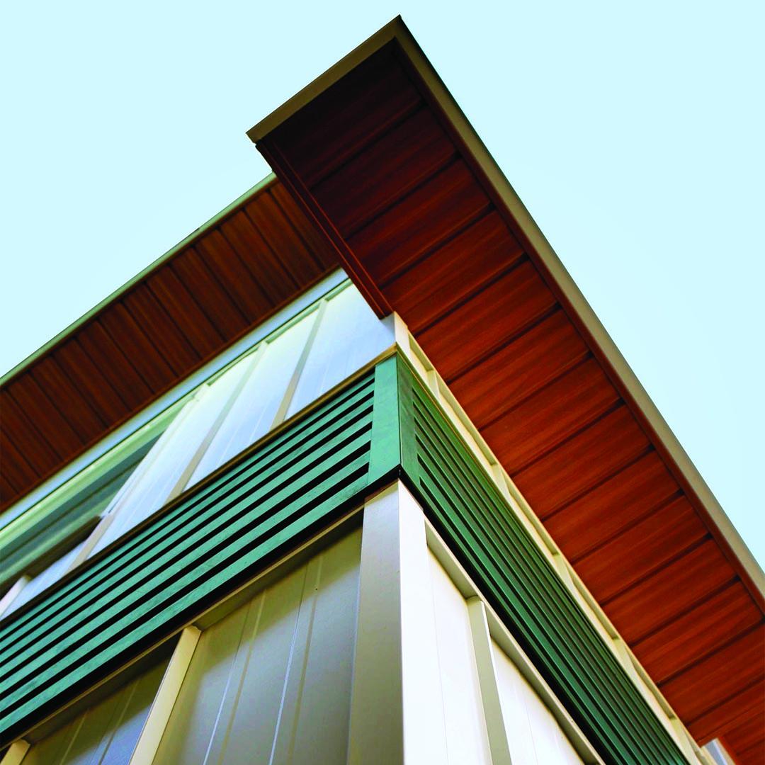 Woodgrain Soffit II/6 Reverse Panel