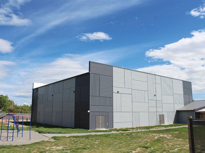 Community Involvement: Forma Steel - Providence Christian School, Monarch, AB