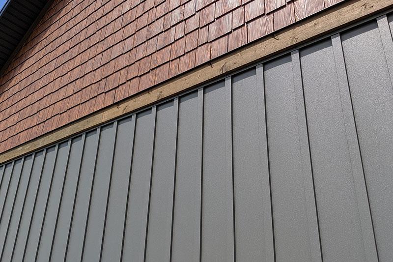 Specialty Metal - Woodgrain Series   Forma Steel