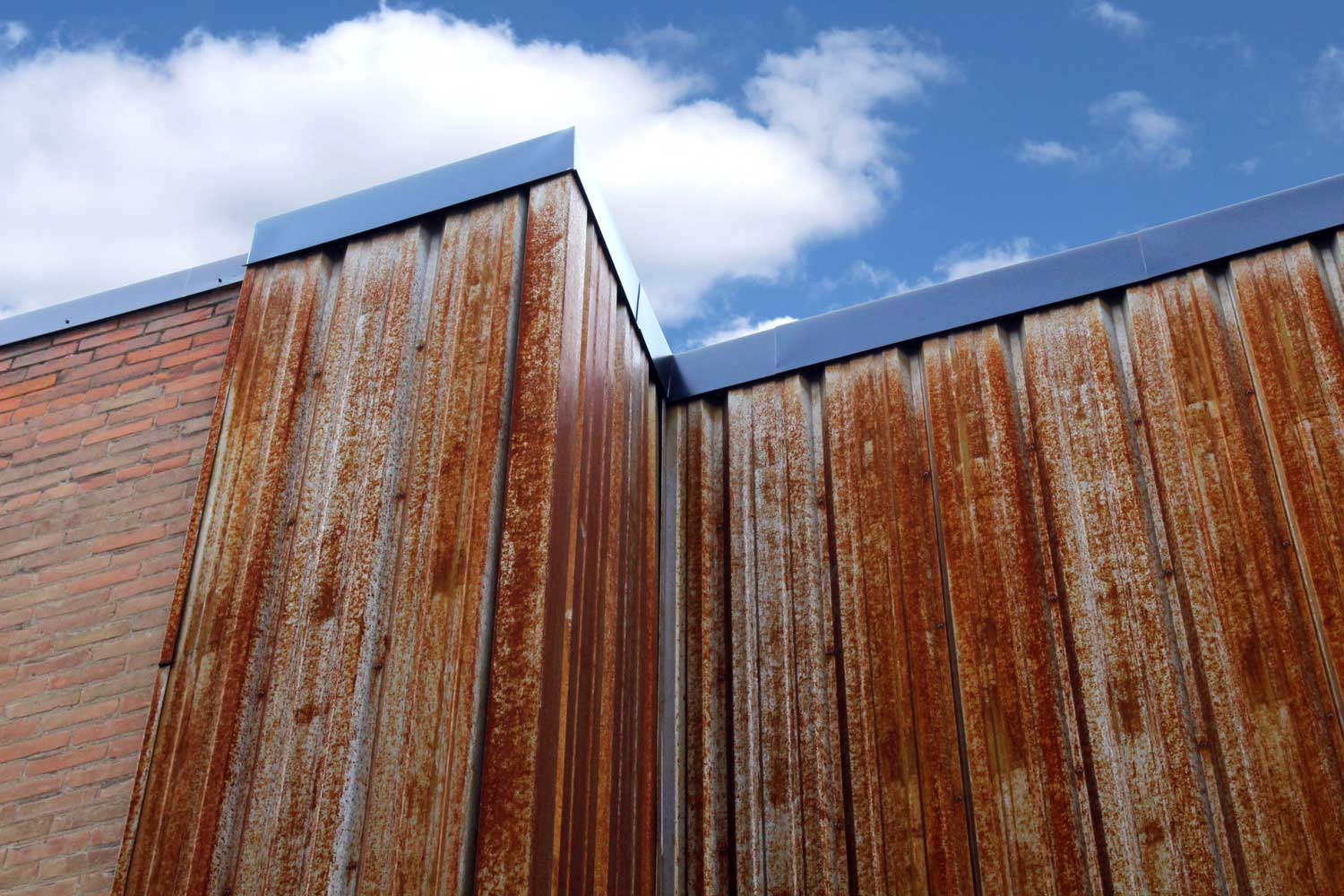 Commercial Building with FA Panel Weathering Steel