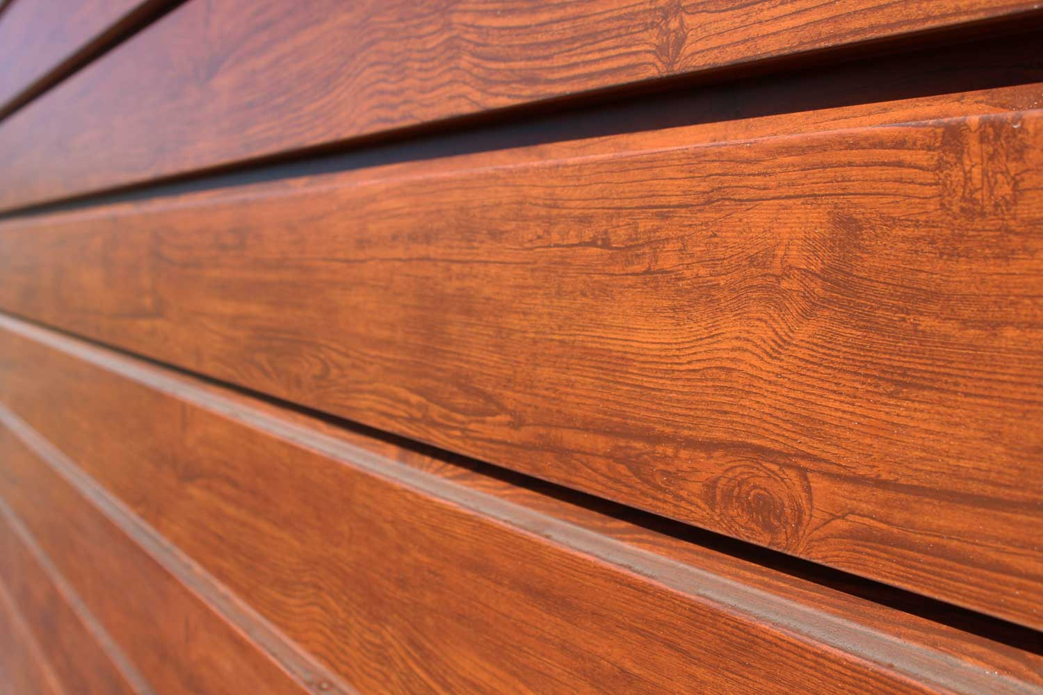 Commercial Building with Frontier Woodgrain Forma Plank