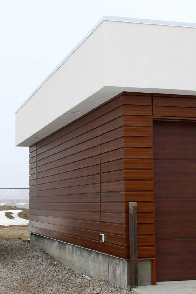 Residential Property with Espresso Woodgrain FormaPlank