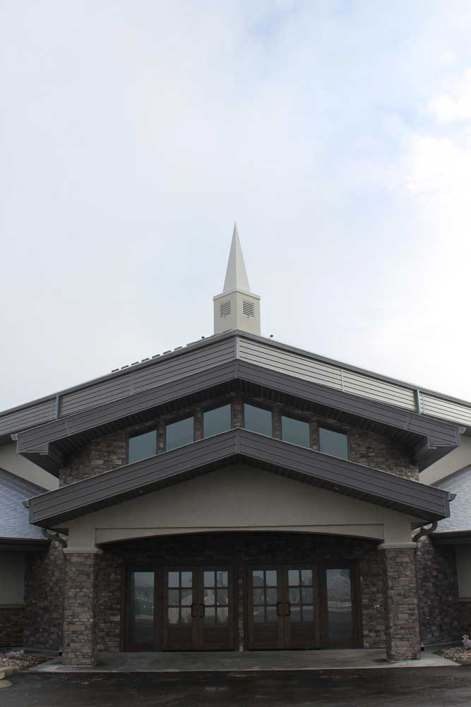 Forma Plank Fascia and InterLoc Soffit in Charcoal