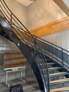 Board & Batten Stairway Cladding